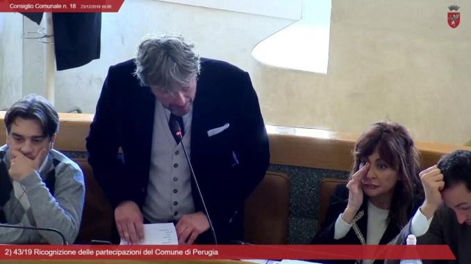 Ricognizione e razionalizzazione delle partecipate Comune di Perugia