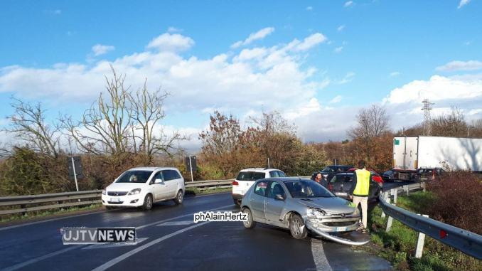 """Incidente stradale senza feriti allo svincolo tra E45 e Statale 75 """"Centrale umbra"""""""