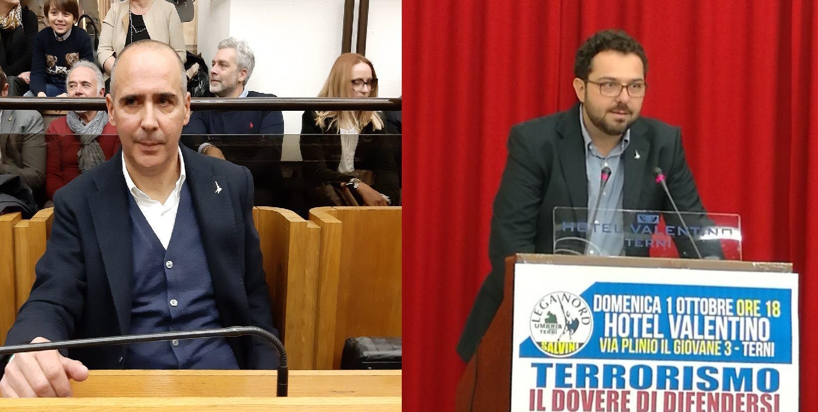Lega Terni, Nicchi presidente I Commissione e Maggiora nel CAL