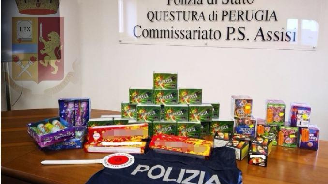 Sequestrati oltre 20 kg di prodotti pirotecnici denunciato un uomo di 60anni