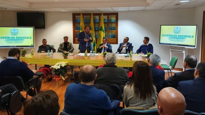 Agricoltura e agroalimentare lavori assemblea fine anno Coldiretti con assessore Morroni