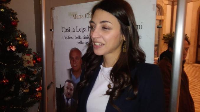 """Chiara Scardocci ha presentato il suo libro """"Così la Lega ha conquistato Terni"""""""