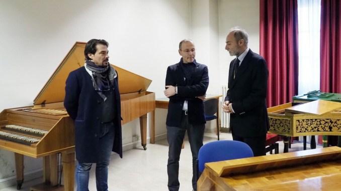Assessore Varasano visita il conservatorio Morlacchi, incontra nuovo direttore