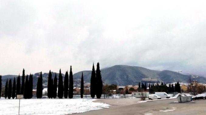 Sull' Appennino umbro è arrivato il gelo temperature sotto zero a Cascia e Norcia [Video]
