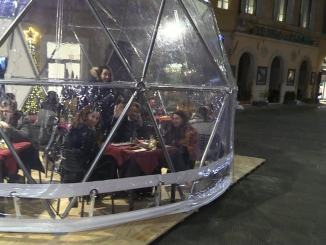 Natale Perugia, gli igloo piacciono a visitatori e commercianti