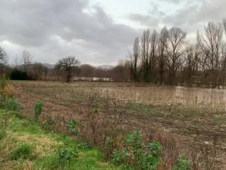 Maltempo Umbria, preoccupa livello fiume Tevere a Ponte Pattoli, straripa a Calzolaro