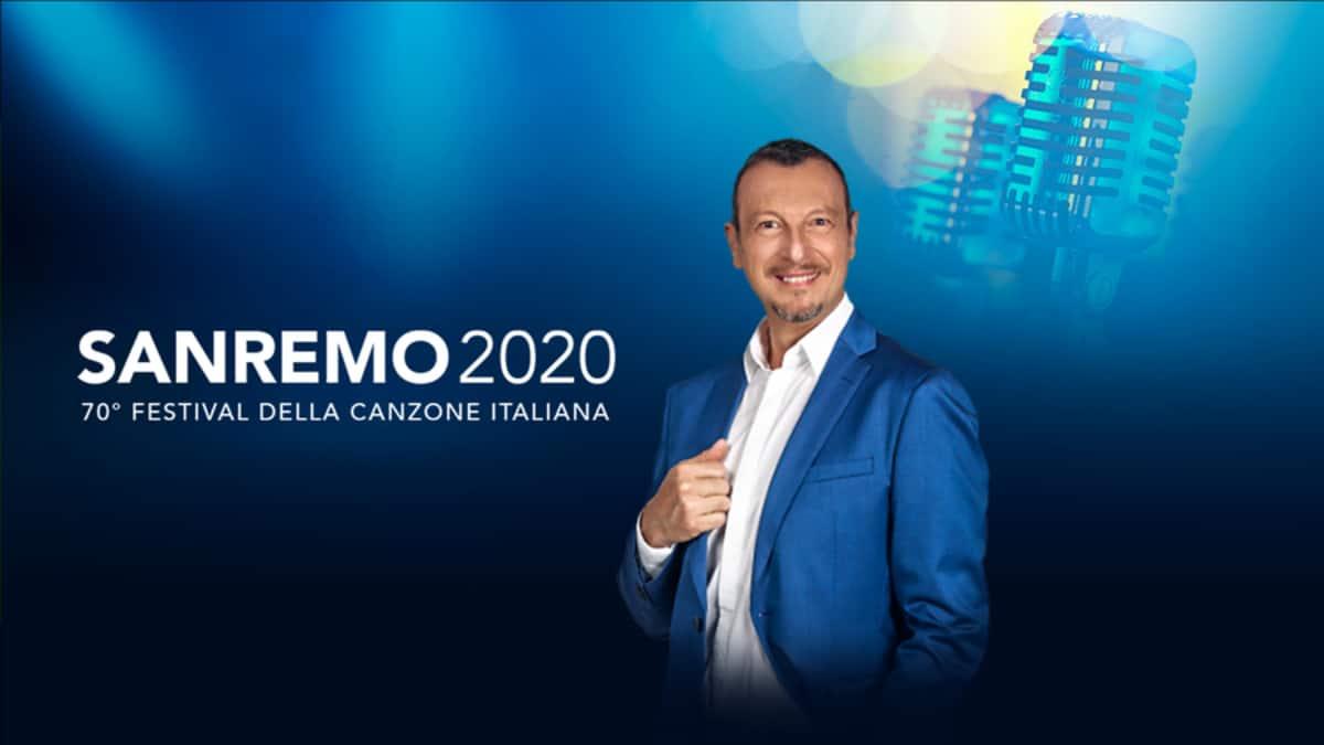 Sanremo 2020, Christian DeSica annuncia