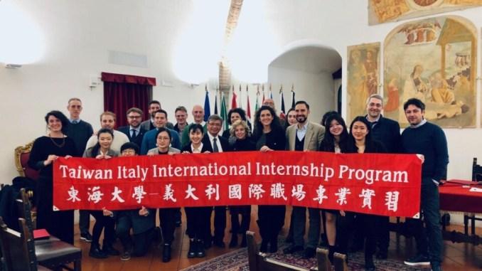 Taiwan-Italy International InternshipProgramme a Perugia