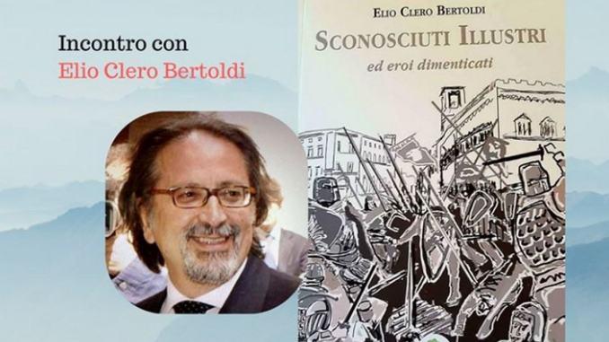 Cena con l'Autore venerdì 24 gennaio 2020 con Elio Clero Bertoldi
