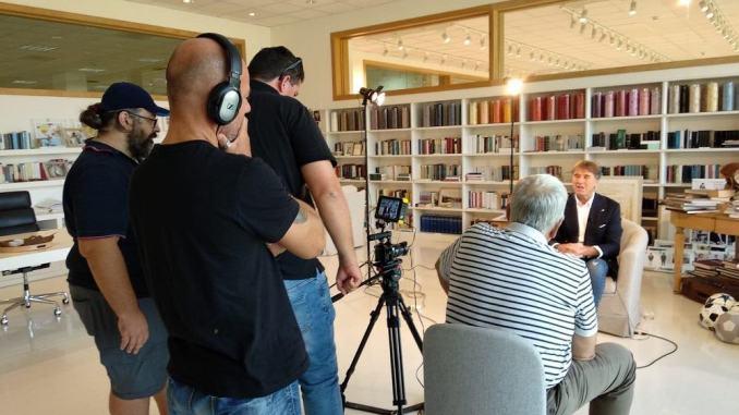 Docufilm su Ronconi In Viaggio con Luca 27 febbraio al Cucinelli di Solomeo