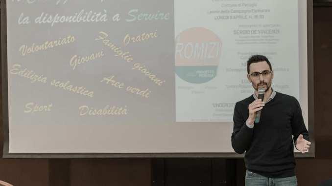 Consigliere Comunale Nicola Volpi delegato del sindaco per i giovani