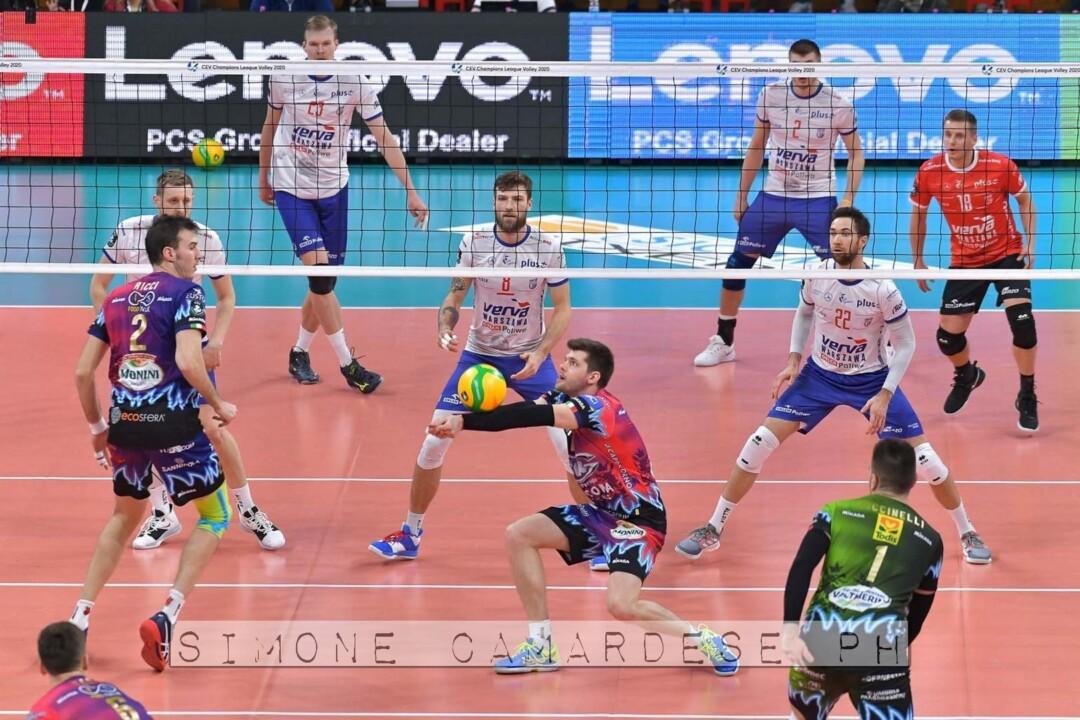 Sir Sicoma volley batte Varsavia delirio al PalaBarton 📸 🔴