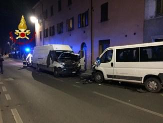 Incidente frontale a Ponte San Giovanni, due feriti in codice giallo