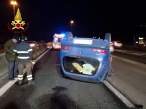 Due incidenti stradali, uno a Ponte Rio e un altro sulla E45, tre feriti