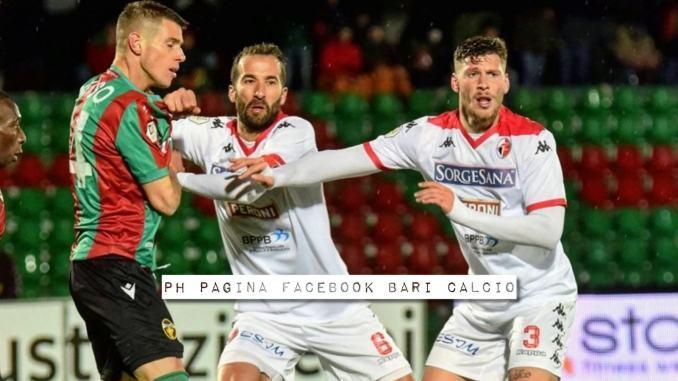 Ternana-Bari 2-2: gol rossoverdi di Sini e Ferrante