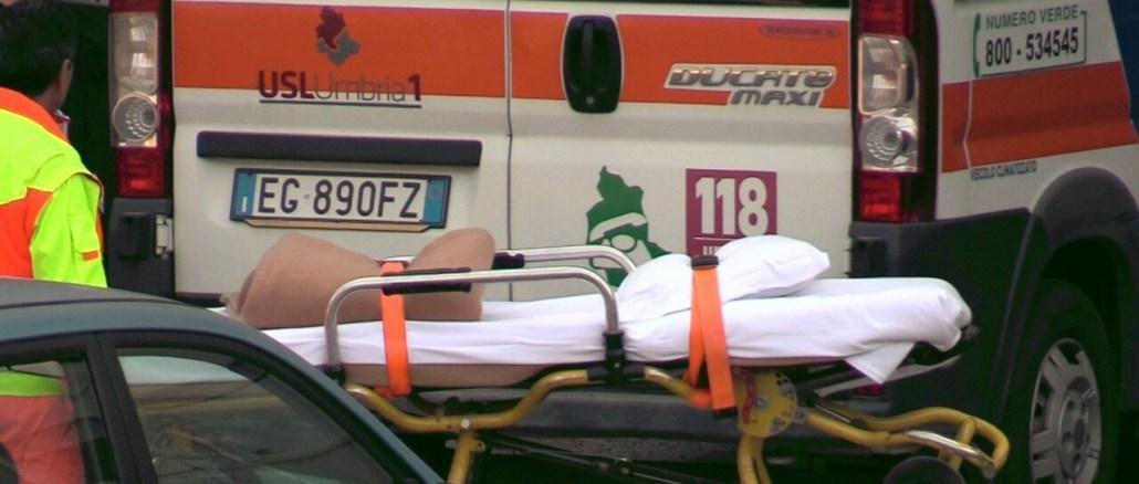Incidente mortale a Marsciano, muore motociclista