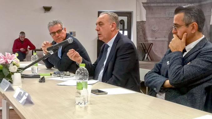 Ricostruzione post sisma, Commissario Legnini ha incontrato i cittadini
