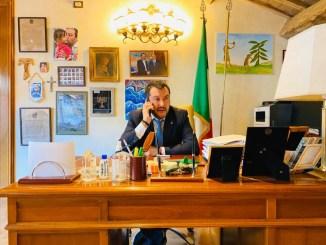 Salvini, no contatti con poliziotto possibile positivo a Coronavirus