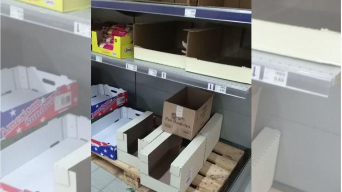 Coronavirus, assalto dei supermercati e finisce il pane, farina e lievito