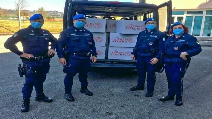 Polizia Penitenziaria Perugia, 1500 euro al comitato per la vita Daniele Chianelli