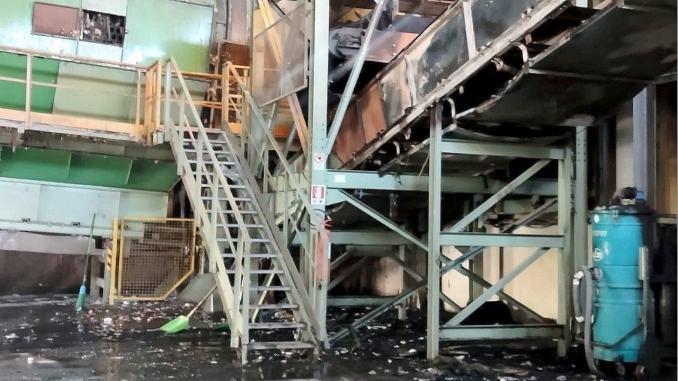 """Incendio all'impianto ASM di Terni, Arpa: """"Nessun impatto sull'ambiente"""""""
