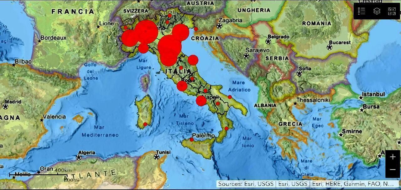Umbria Cartina Italia.Osservatorio Salute Covid Umbria 21 Aprile Fuori Emergenza Mappa Italiana