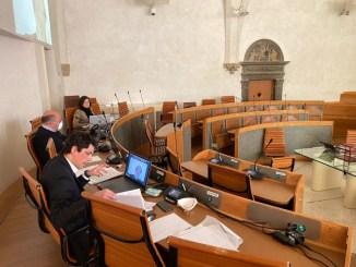 Consiglio telematico Perugia, Romizi, obbligo mascherina, valuteremo