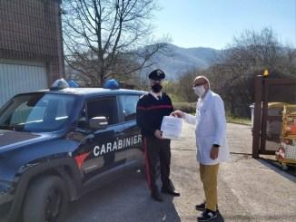 Gran cuore dei Carabinieri, Ponte Pattoli consegna beni prima necessità