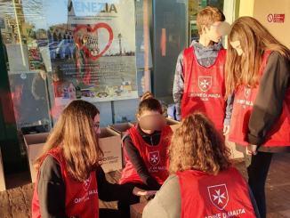 Emergenza Covid19, in un mese raddoppiate le persone aiutate dall'Ordine di Malta