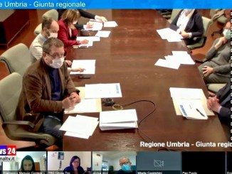 Video intero della conferenza stampa della Regione Umbria su Covid-19