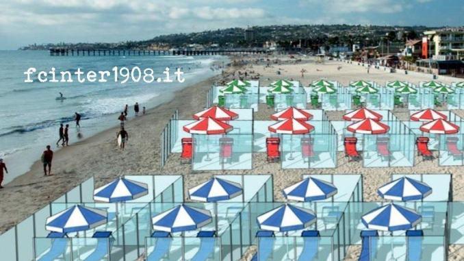 Spiagge. Comune Rimini-bagnini stroncano box plexiglass: fake news