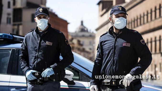 Perugia, Cgil e Silp consegnano mascherine al questore