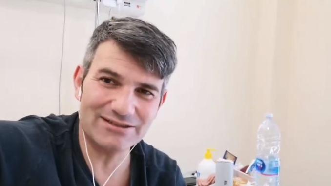Roberto Venarucci aveva il coronavirus, ora è guarito e torna a casa, la sua storia