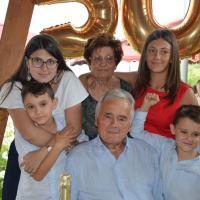 Gli 80 anni di nonno Giovanni Vescarelli, l'infermiere di Balanzano