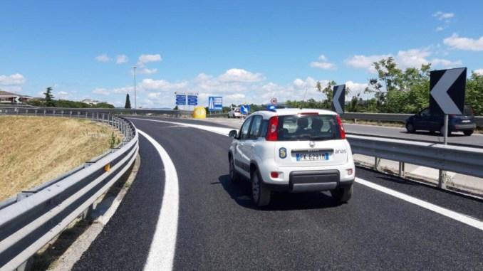 Raccordo Perugia Bettolle, Anas ha completato i lavori di pavimentazione