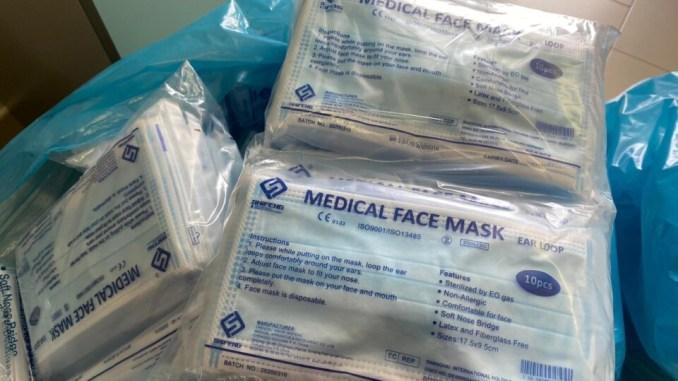 Distribuzione mascherine ai residenti di Perugia, le modalità di consegna