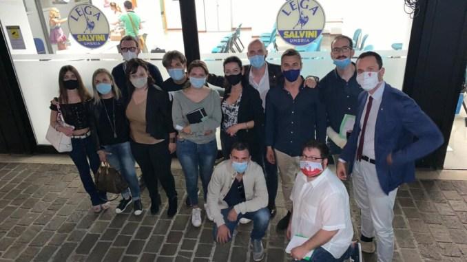Umbria, si riorganizza la nuova struttura della Lega per Salvini Premier