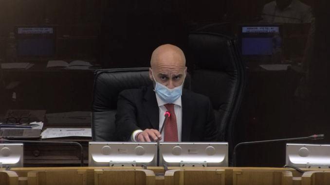 Assemblea legislativa Umbria, Marco Squarta convoca per il 22 dicembre