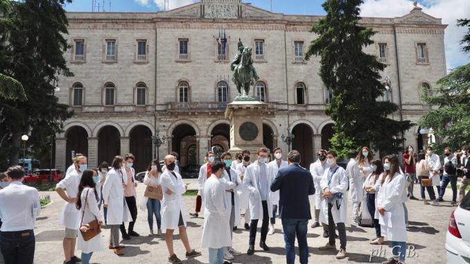 Martedì 7 lugliodalleore 9.30 comparto sanità in Piazza Italia, la protesta
