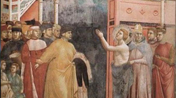 Francesco e la Spogliazione, messaggio alla civiltà del dopo Covid19