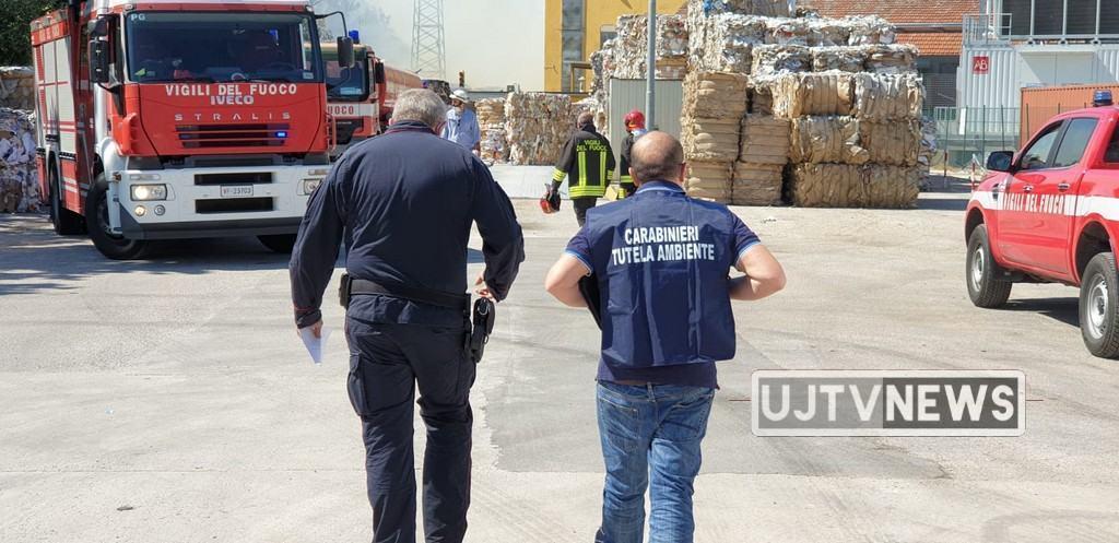 Incendio Cartiere, Italia Nostra e WWF, rifiuti...sempre rifiuti e incendi