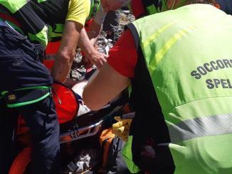 Escursionista ha un malore a Pale di Foligno, recuperato dal Sasu