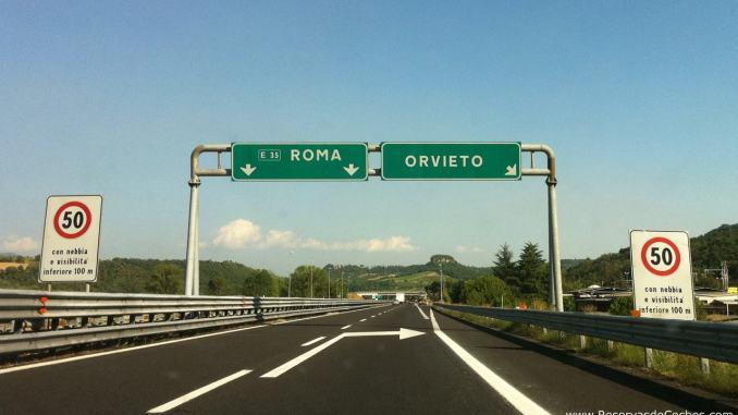 Chiusure notturne A1 stazione di Orvieto, per lavori di pavimentazione
