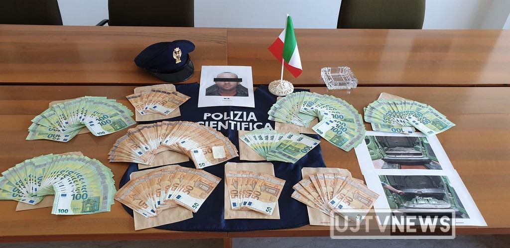 Meccanico di Foligno, arrestato dalla Polizia, viaggiava con 50 mila euro falsi 🔴📸 FOTO E VIDEO