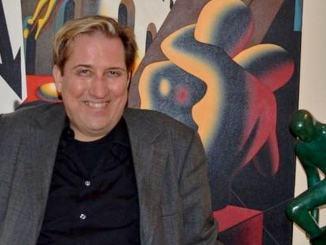 """Mark Kostabi a Terni nell'ambito della mostra """"Andy Warhol ...in the city"""""""
