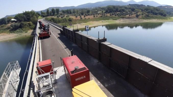 Riapre domani viadotto lago Corbara rimane da riaprire agli autotreni
