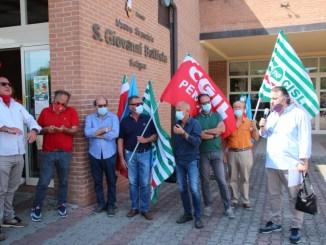 Presidio Cgil Cisl Uil a Foligno, difendiamo Ospedale San Giovanni Battista