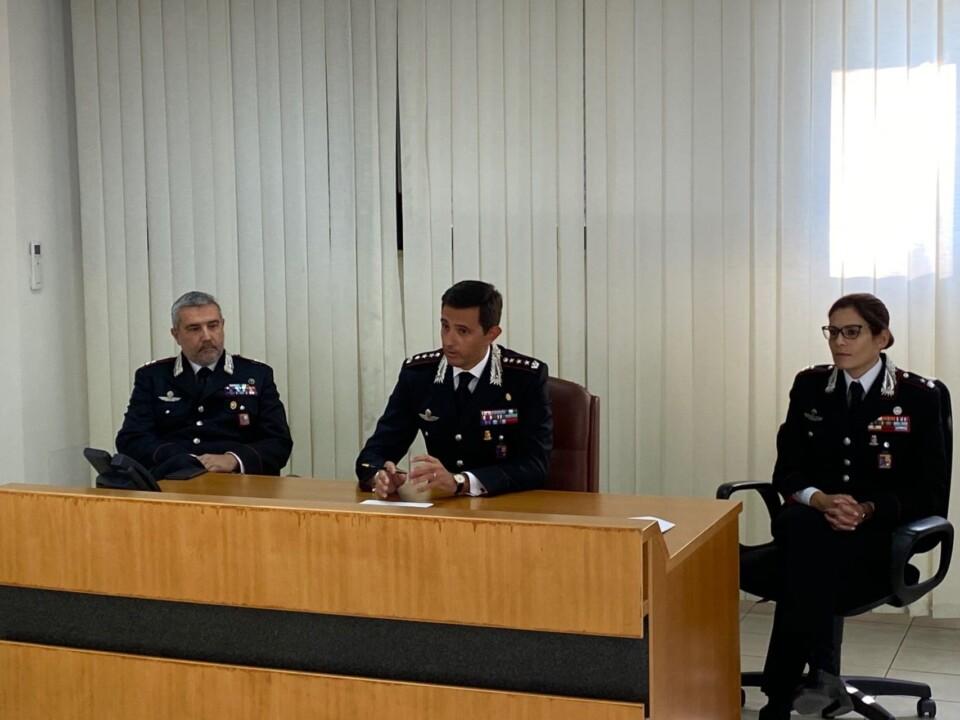 Colonnello Davide Milano, nuovo comandante provinciale di Terni