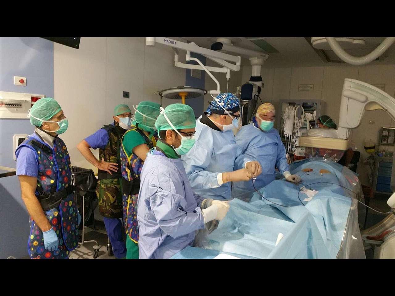 Intervento chirurgico salvavita all'ospedale di Perugia per rottura aorta