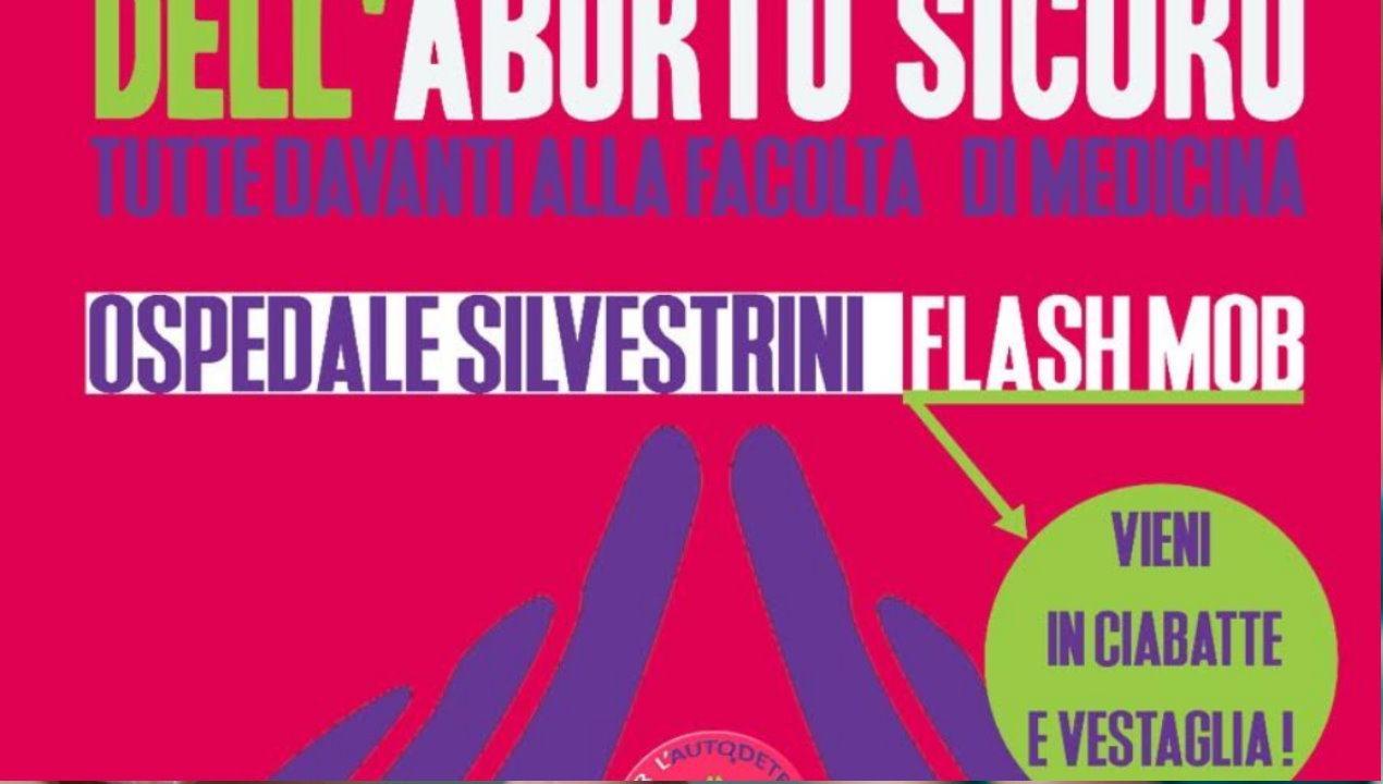 Rete Umbra Autodeterminazione pillola RU486 flash mob Perugia 28 settembre